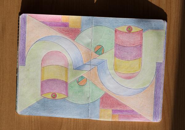 CzrArt: Time Traveler Sketchbook Project: Final: Page 11