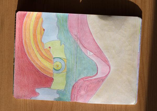 CzrArt: Time Traveler Sketchbook Project: Final: Page 12