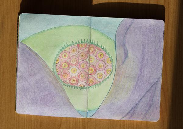 CzrArt: Time Traveler Sketchbook Project: Final: Page 14
