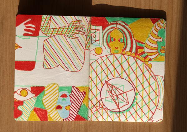 CzrArt: Time Traveler Sketchbook Project: Final: Page 15