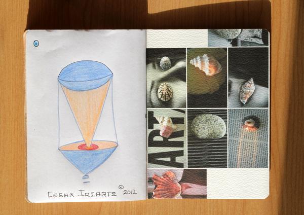 CzrArt: Time Traveler Sketchbook Project: Final: Page 17