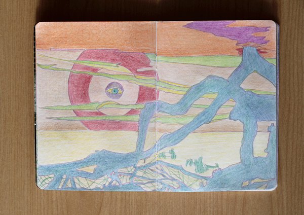 CzrArt: Time Traveler Sketchbook Project: Final: Page 4
