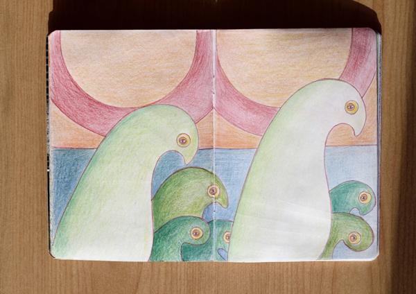CzrArt: Time Traveler Sketchbook Project: Final: Page 5