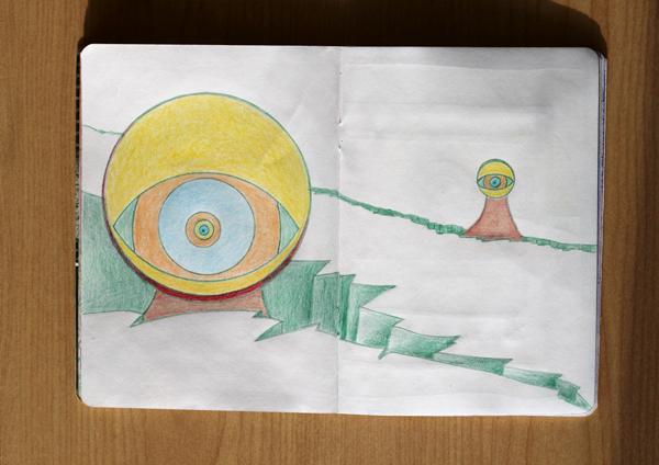 CzrArt: Time Traveler Sketchbook Project: Final: Page 7