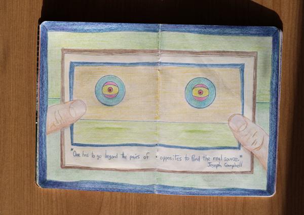 CzrArt: Time Traveler Sketchbook Project: Final: Page 8
