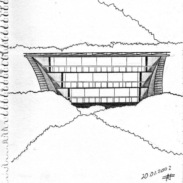 CzrArt: My City Archidraw #17 (2002)