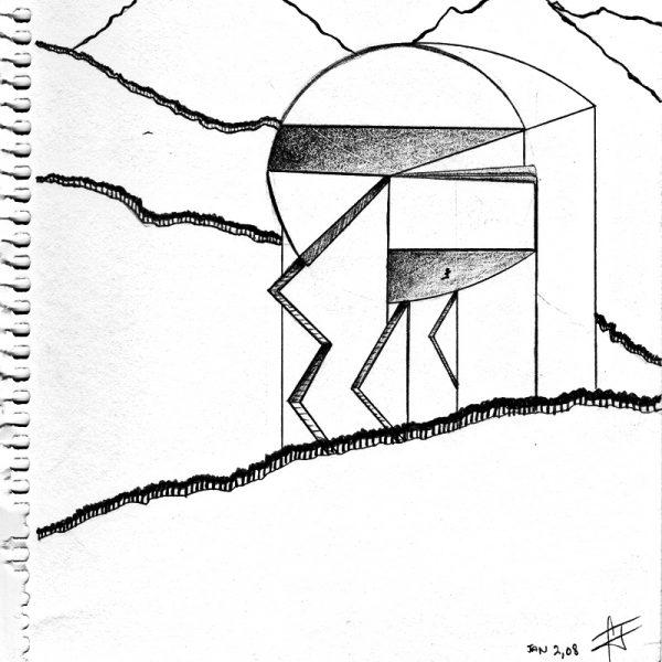 CzrArt: My City Archidraw #7 (2002)