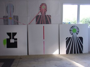 CzrArt - Wall of Paradise progress photo