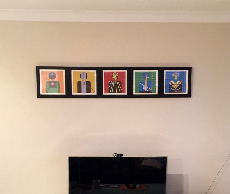 CzrArt: One Prints On the Wall